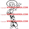 Sticker Jessie Toy Story