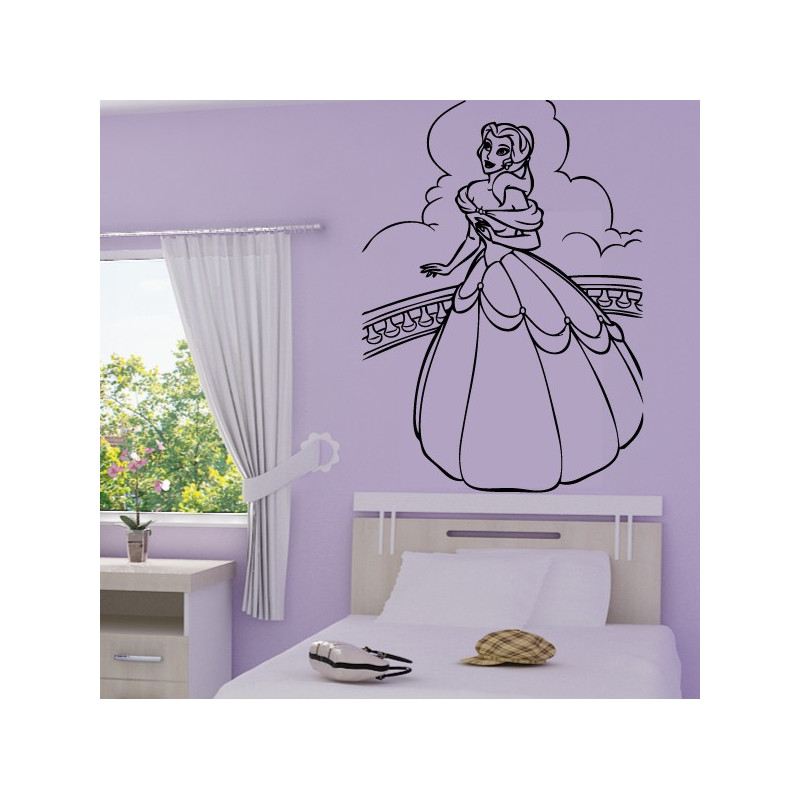 Sticker Belle au Bois Dormant - Princesse
