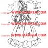 Sticker Princesse 2