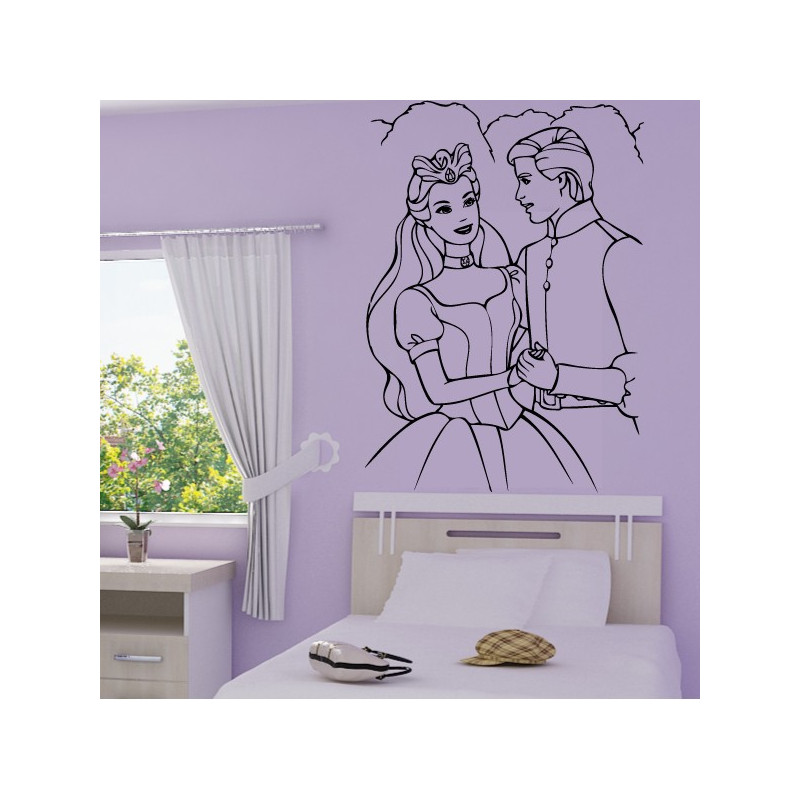 Sticker Princesse 5