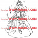 Sticker Princesse 7