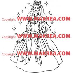 Sticker Princesse 7