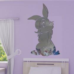 Sticker Miroir - Miss Bunny