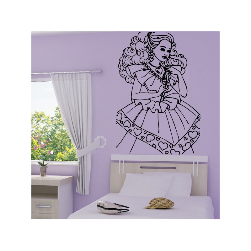 Sticker Princesse 8