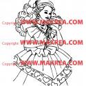 Sticker Princesse 8