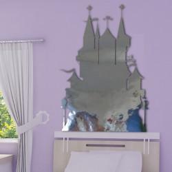 Sticker Miroir - Château de Princesse