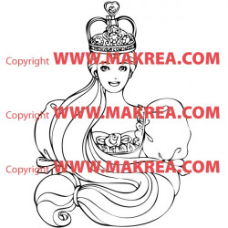 Sticker Princesse 11