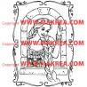 Sticker Princesse 12