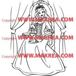 Sticker Princesse 13