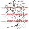 Sticker Princesse 14