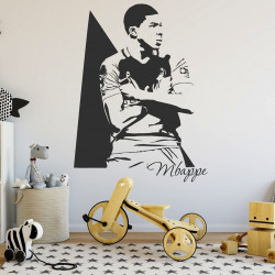 Sticker footballeur - Mbappe