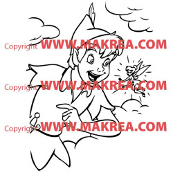 Sticker Peter Pan 2