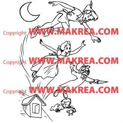 Sticker Peter Pan 3