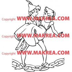 Sticker Peter Pan 4
