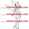 Sticker Peter Pan - Fée Clochette 5