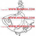 Sticker Cendrillon 3
