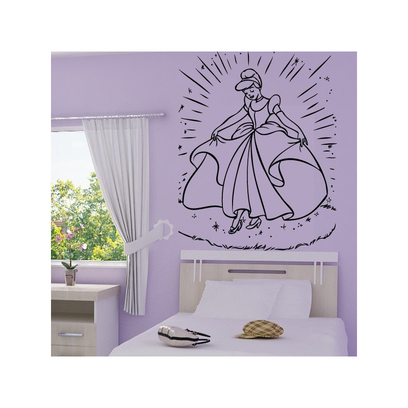 Sticker Cendrillon 5