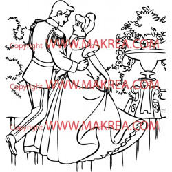 Sticker Cendrillon 7