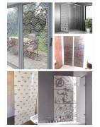 Stickers Dépoli pour vitres - Occultant ou Décoratif
