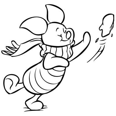 Sticker Porcinet