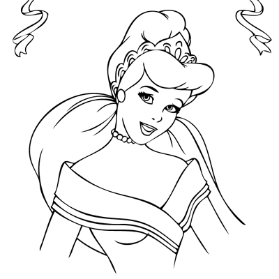 Sticker Cendrillon 4