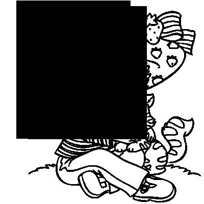 Sticker Charlotte aux Fraises