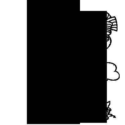 Sticker Charlotte aux Fraises 2