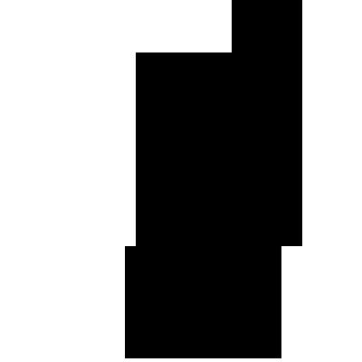 Sticker Winnie Papillon sur le nez