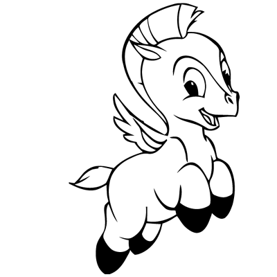 Sticker Pégase