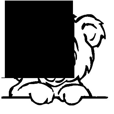 Sticker Tête Ourson