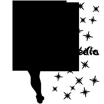 Sticker PACK Silhouette Fée Clochette + prénom + déco porte + interrupteur