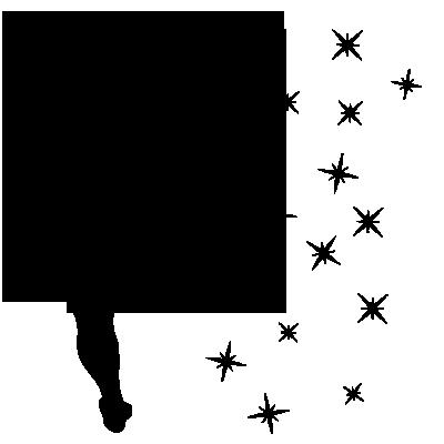 Stickers Interrupteur / Prise Fée Clochette Baguette