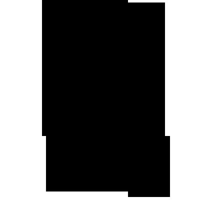 Sticker Château de Princesse Silhouette - Féérie