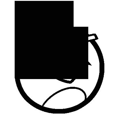 Sticker Angry Birds - Black Bird Bomb