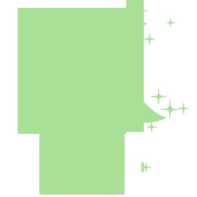 Sticker Luminescent 20 Etoiles et demi-lune