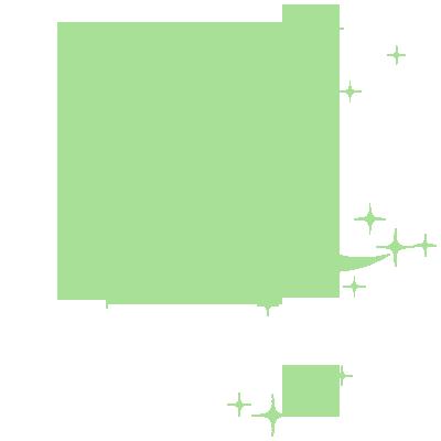 Sticker Luminescent 20 Etoiles et Lune
