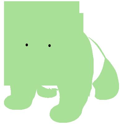 Sticker Luminescent Bébé Panda
