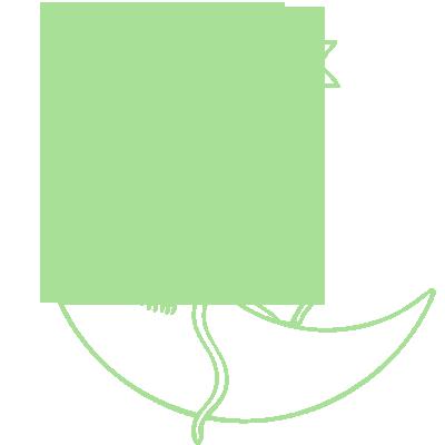 Sticker Luminescent Souris sur la Lune