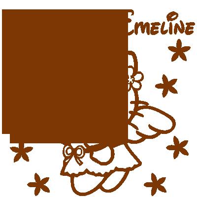 Sticker de porte - Hello Kitty Fleurs