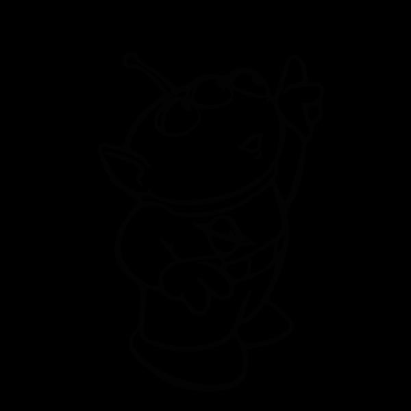 Sticker Toy Story - Bully Alien 5