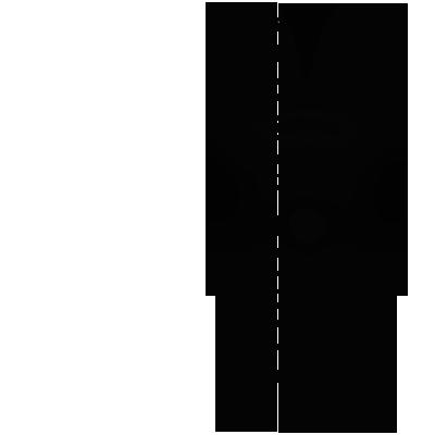 Sticker Tiki statue Polynésienne