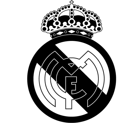 Sticker Logo REAL Madrid