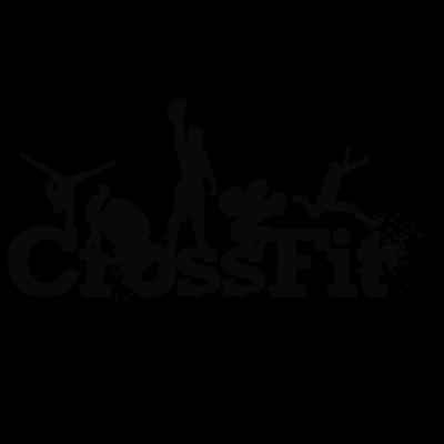 Sticker Logo CrossFit modèle 1