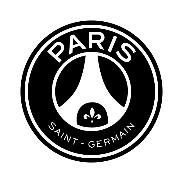 Sticker Logo Paris Saint Germain PSG Foot V2