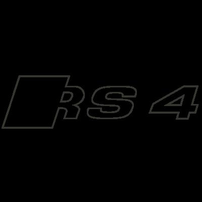 Sticker Logo Audi RS 4