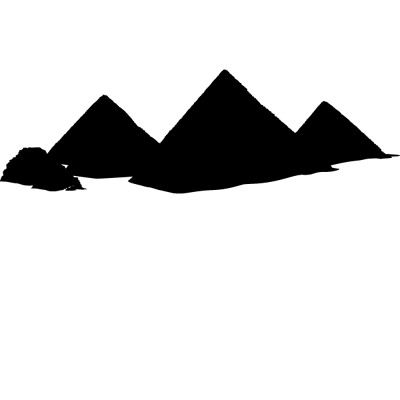 Sticker Pyramides d'Egypte