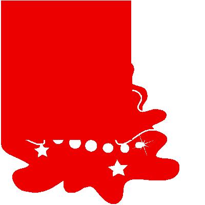 Sticker Sapin de Noël Enfantin