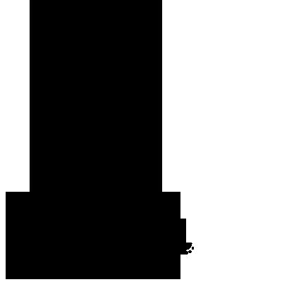Sticker Sapin de Noël guirlandes de perles