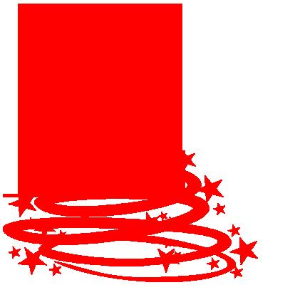 Sticker Sapin de Noël Etoiles Design