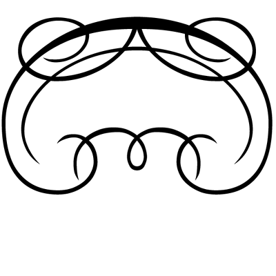 Sticker Tête de lit Ornements 2